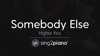 Baixar Somebody Else (Higher Key - Piano Karaoke Instrumental) The 1975