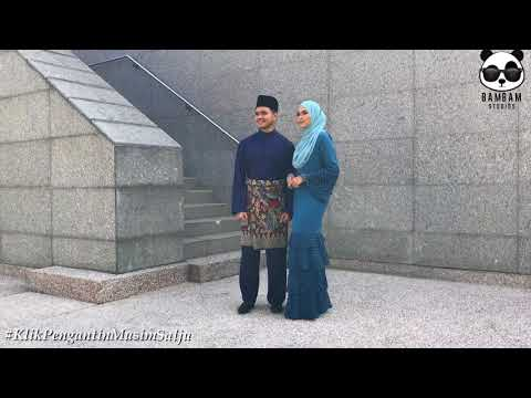 Siti Nordiana & Alif Satar : Photoshoot Klik! Pengantin Musim Salju for Kosmo BTS
