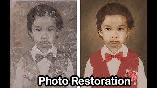Cara Memperbaiki Foto Lama Rusak dan Berjamur
