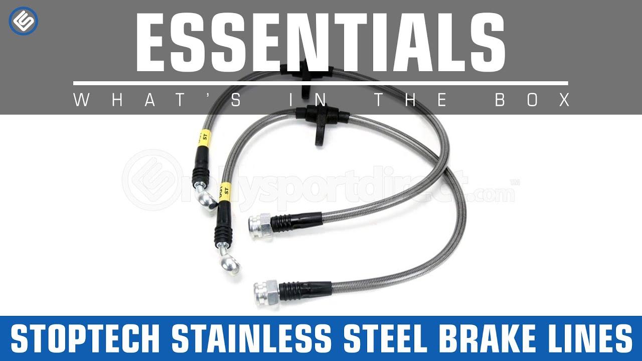 Ss Brake Line : Stoptech subaru wrx sti stainless steel brake lines