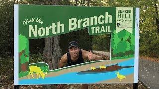 LAST LONG RUN BEFORE MARATHON - 16.4 MILES NORTH BRANCH TRAIL