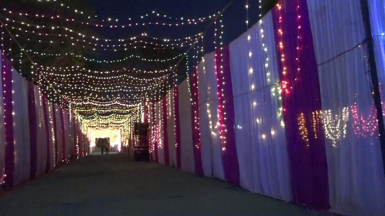 shree Ganesh tent house Bidoli gallery making by light decoration & shree Ganesh tent house Bidoli gallery making by light decoration ...