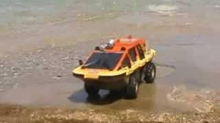 amphibious rc vehicle