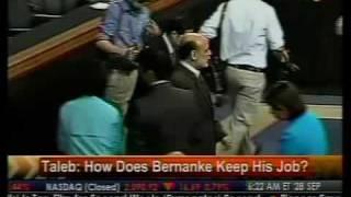 How Does Bernanke Keep His Job? - Taleb