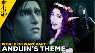 World of Warcraft: Anduin's Theme ft. Tiggs (Symphonic Metal Cover) || String Player Gamer