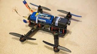 Cheap 250 Size Mini Quad Project - RCTESTFLIGHT -