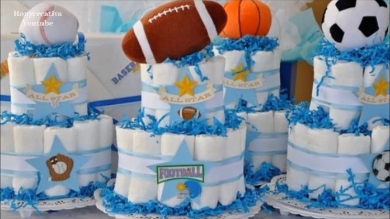 Awesome Para Baby Shower Part - 4: 20 Ideas Con Pañales Para Baby Shower / Ronycreativa - YouTube