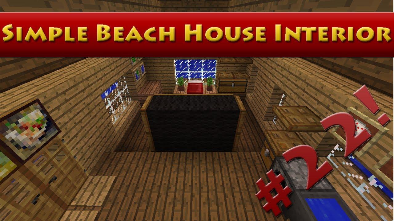 Tutorial Minecraft Beach House