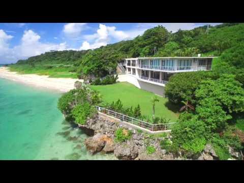 Beach House real estate drone shoot