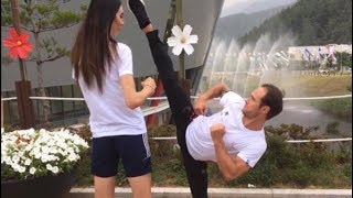 Gareth Brown Olympic Coach - Taekwondo Check Tutorial