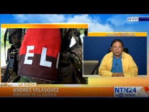 """""""Venezuela como nación está en peligro por la presencia del ELN"""": Andrés Velásquez"""