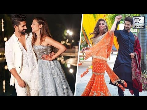 Sargun Mehta Looks Stunning With Husband Ravi Dubey At Her Brothers Marriage