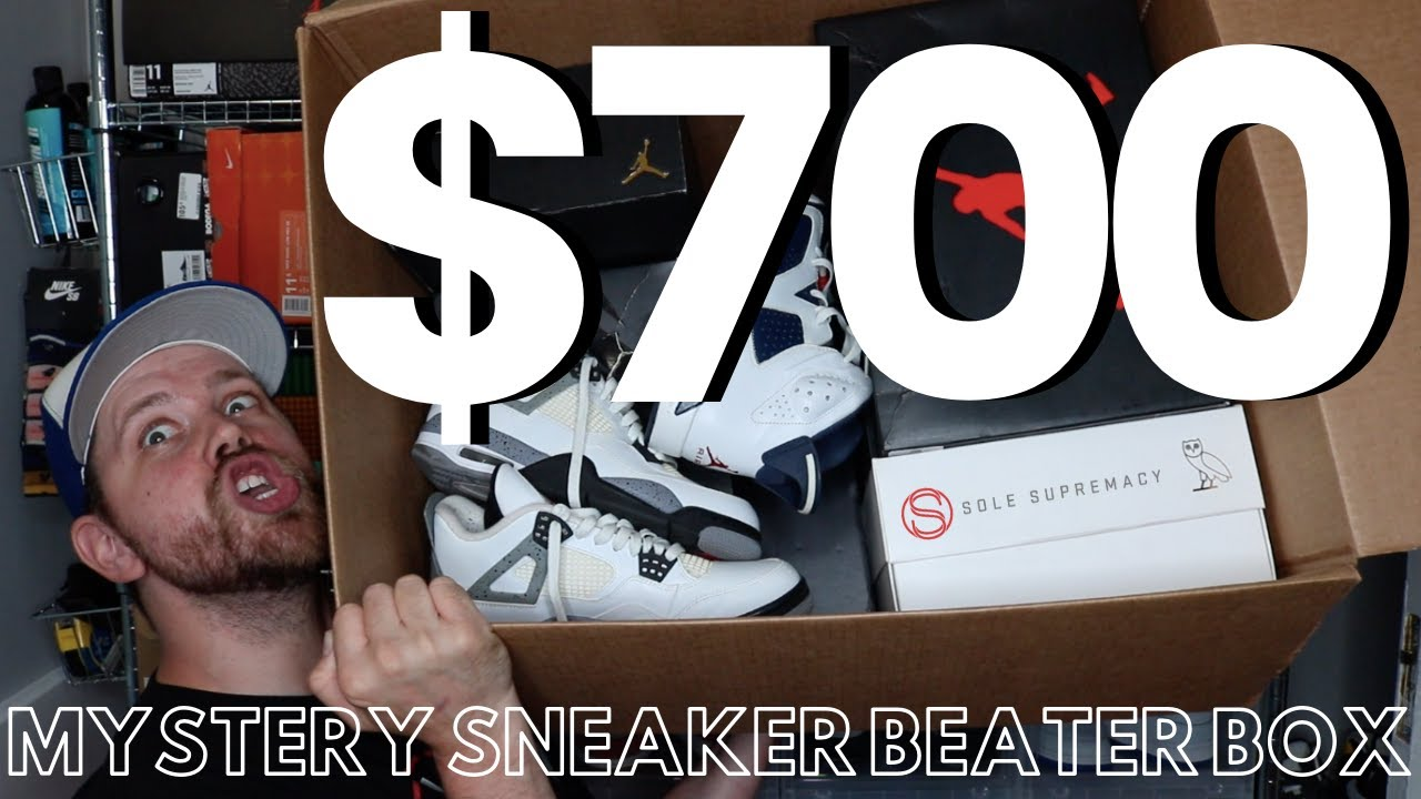 unboxing nine pairs of
