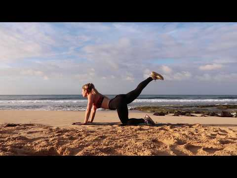 Beach Booty Workout (bigger Butt In 10 Minutes!!)
