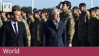 Macron wants closer defence ties with UK