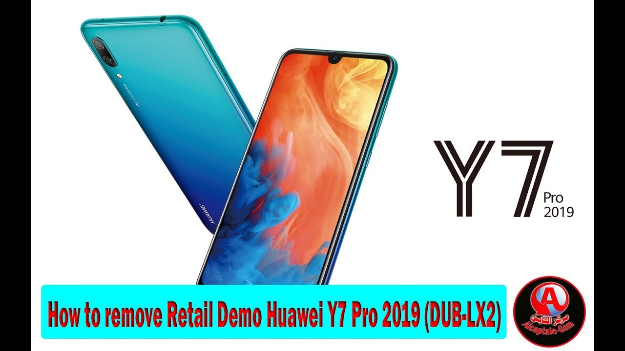 How to remove Retail Demo Huawei Y7 Pro 2019