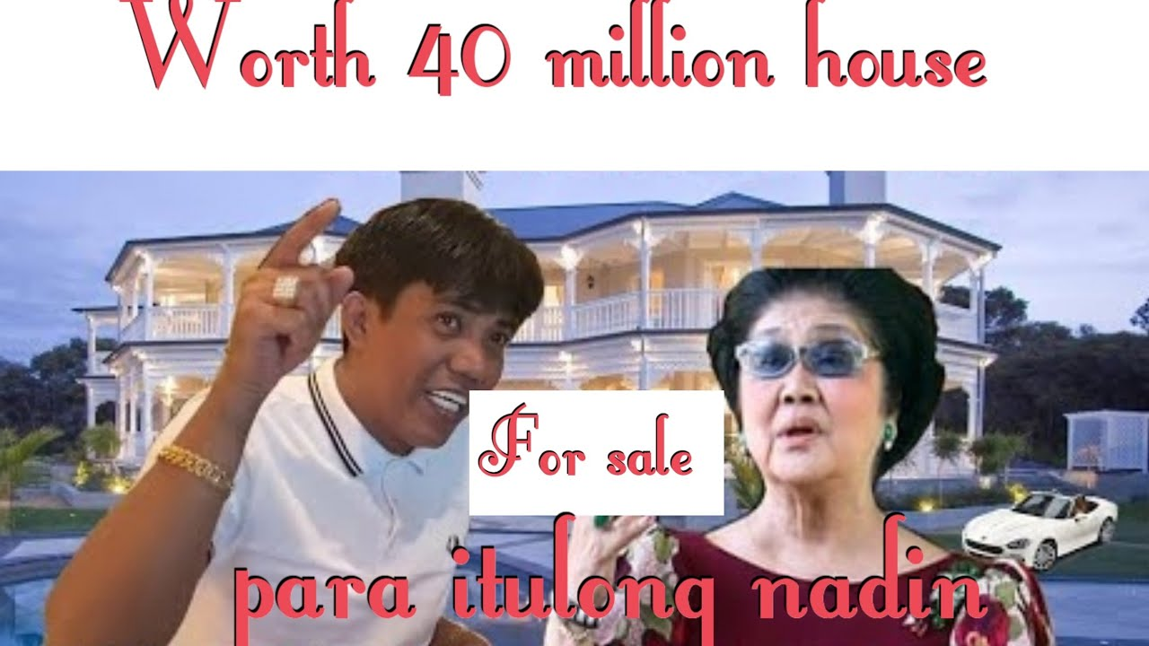Francis Leo Marcos pati bahay ibebenta niya na worth 40 million para itulong-Great supporter here.
