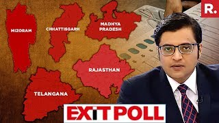 #PollOfPolls - Poll of Exit Polls For Rajasthan, Telangana, Madhya Pradesh, Chattisgarh And Mizoram