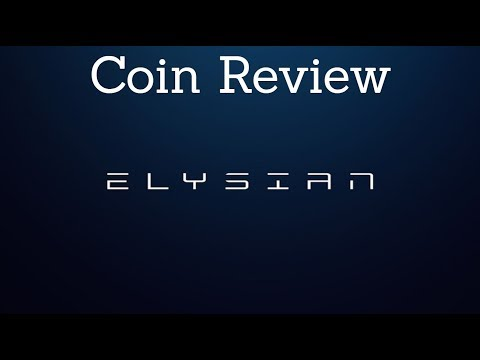 Elysian (ELY) - Coin Review | Ecommerce On The Blockchain