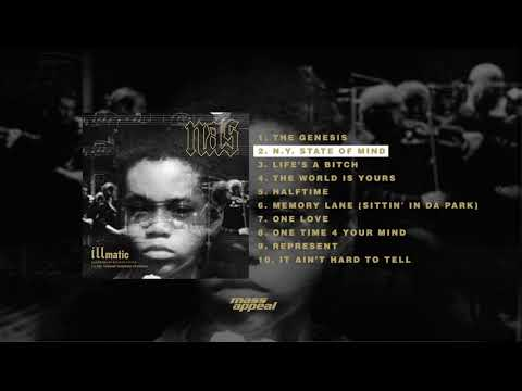 Nas  NY State of Mind  HQ Audio