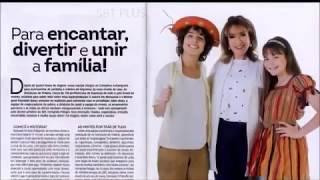 vuclip As Aventuras de Poliana na capa do SBT em Revista (Junho/2018)   SBT