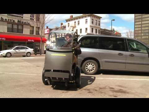 Video thumbnail of Segway