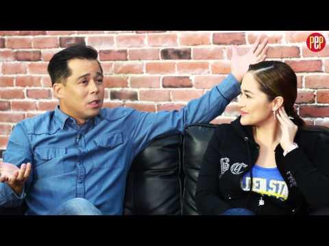 PEPtalk Flash. Dingdong Avanzado and Jessa Zaragoza talks about daughter Jayda