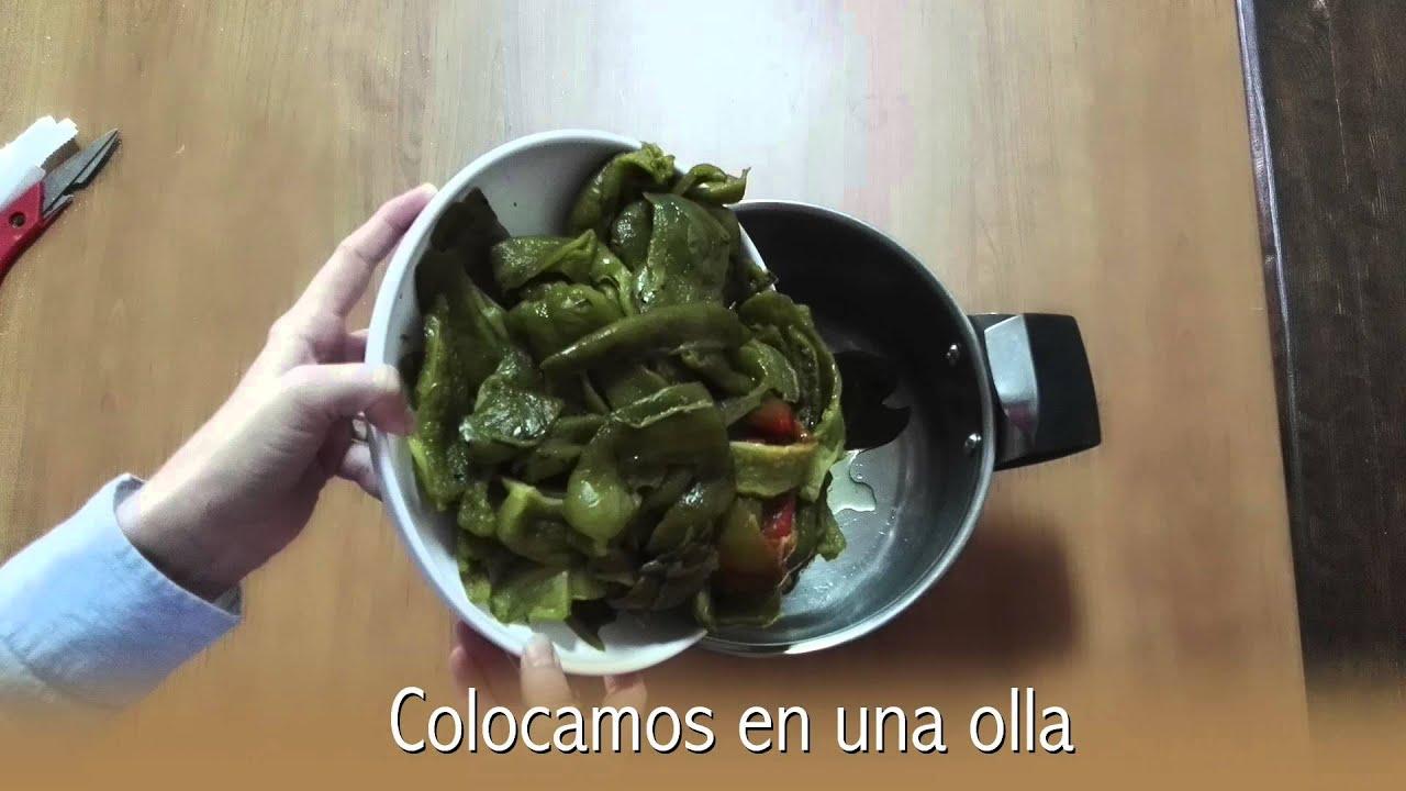 Mermelada de pimiento verde youtube - Como hacer mermelada de pimiento ...