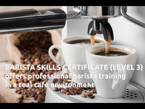 HOW TO MAKE A GREAT COFFEE? BARISTA COURSE IN AUCKLAND