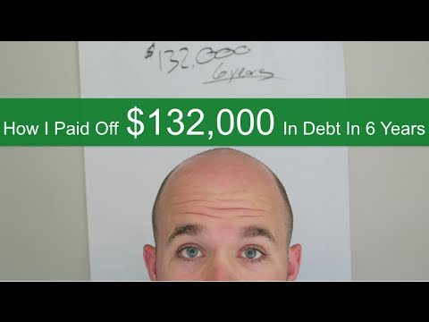 How I Paid Off $132,000 Of Debt In 6 Years: Money Mindset Part 4