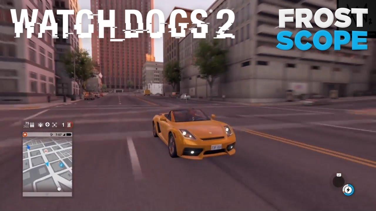 Unlock Cars Watch Dogs