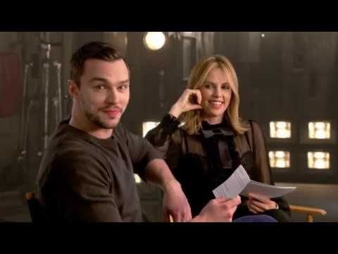 Nicholas Hoult and Charlize Theron answer  questions about Mad Max: Fury Road