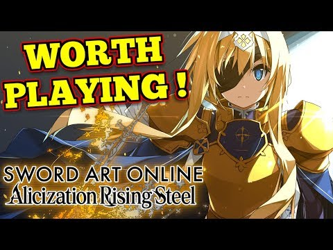 Sword Art Online Alicization Rising Steel : First Impressions