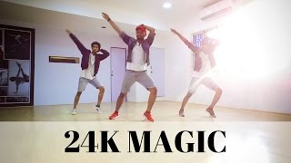 Bruno Mars - 24K Magic dance | Ravi Varma Choreography @brunomars #24kmagic