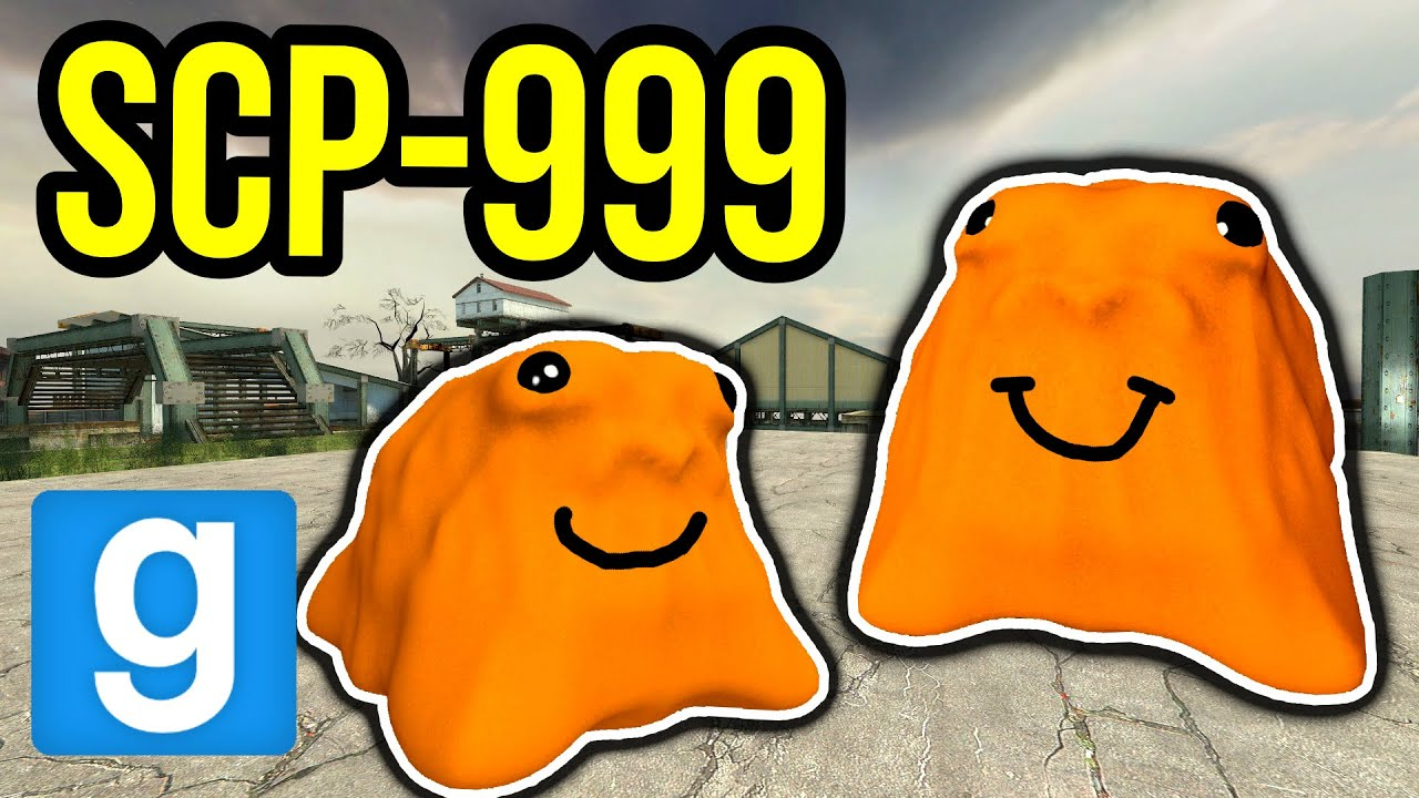 WE FOUND SCP-999!! (Garry's Mod Nextbot)