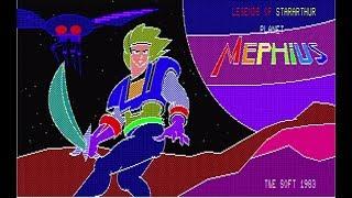 【PC-88実機で初期ゲーム】『惑星メフィウス』【PC歴40年】