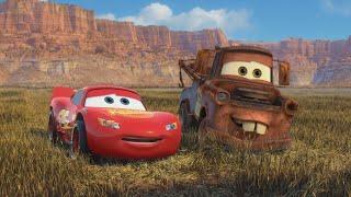 """Развлечение Метра и Маквина!  - """"Тачки 2"""" отрывок из фильма"""