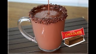 CHOCOLATE QUENTE CREMOSO - RECEITA SIMPLES