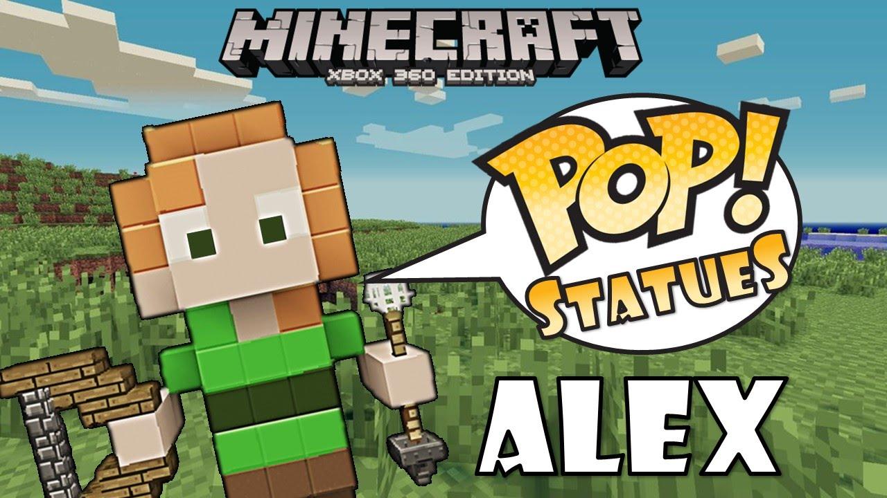 Minecraft Xbox Funko Pop Statues Quot Minecraft Alex