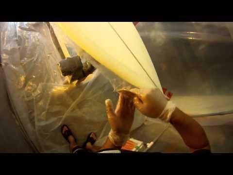 "Glassing 6' 6"" Shortboard Surfboard Deck"