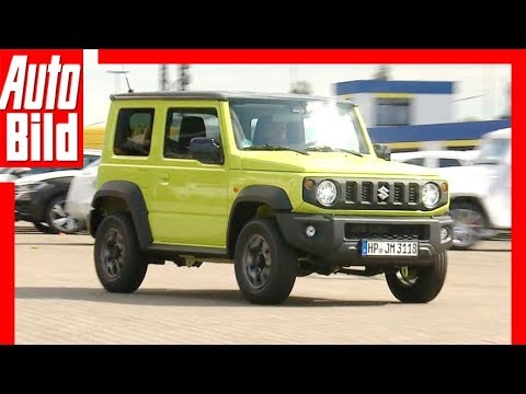 suzuki jimny 2018 erste fahrt review test youtube. Black Bedroom Furniture Sets. Home Design Ideas