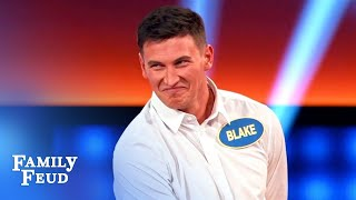 If Nudists Move In Next Door... Bachelor Blake Is Buying THIS!   Celebrity Family Feud