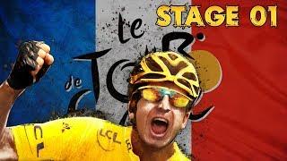 Tour de France 2018, Stage 1 [Flat], Movistar (PCM 2018)