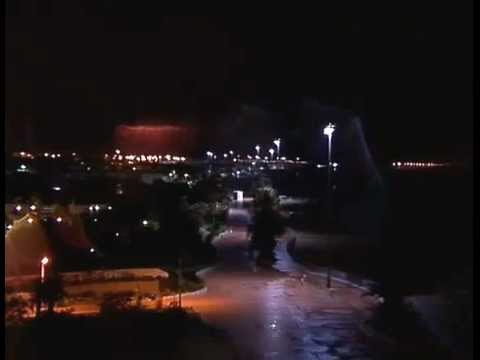 Soir de tonnerre à Agadir.