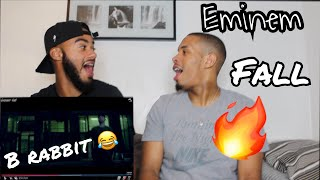 Eminem - Fall   ITS LOOKING MESSY FOR MGK (EPIC UK REACTION!)