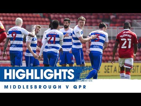 Middlesbrough QPR Goals And Highlights