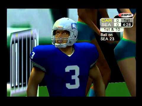 ESPN NFL 2K5 PS2: 2015 Seahawks vs Panthers  YouTube