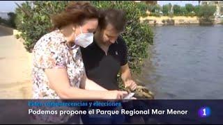 TVE - Abrir las golas supondría acabar con el Mar Menor