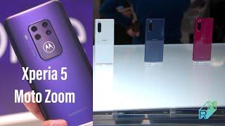 Sony Xperia 5 i Motorola One Zoom Pierwsze wrażenia #IFA2019 | Robert Nawrowski
