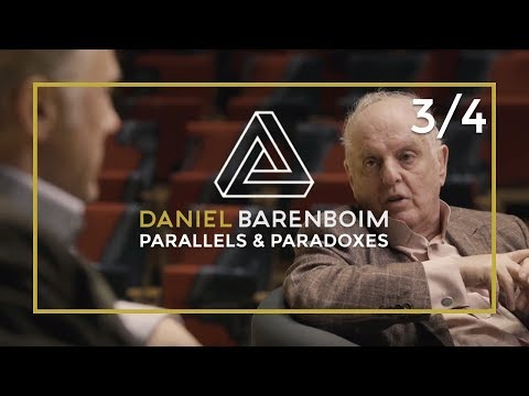 Daniel Barenboim & Christoph Waltz on interpreting a Piece | Parallels & Paradoxes Part 3/4